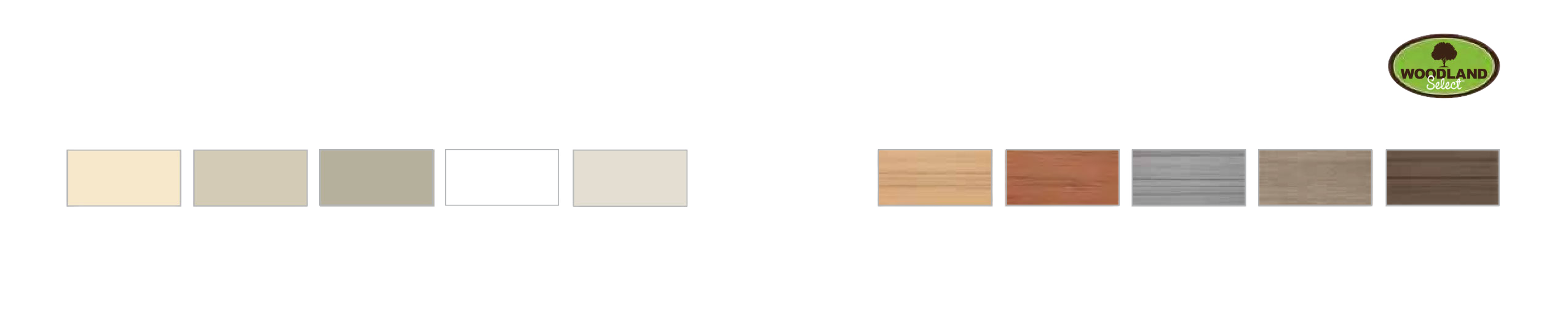PlyGem Privacy Fence Color Chart